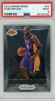 Kobe Bryant Los Angeles Lakers 2012 Panini Prizm Basketball Card #24 PSA 9 MINT