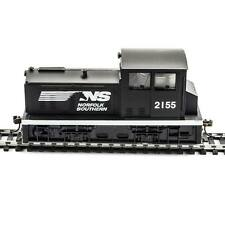 NEW Model Power DDT Plymouth Norfolk & Southern Blk/Wht HO 96684