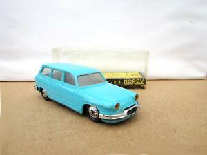 Norev Plastic No.4 Panhard 17  Break / Estate Car -  Turquoise