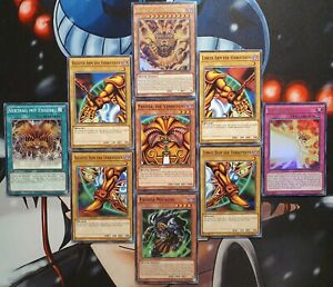 YuGiOh! Exodia die Verbotene Komplett Inkarnation Necross LDK2 DEUTSCH Sammlung