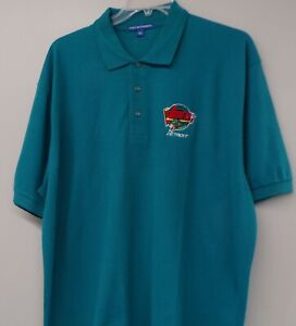 IHL Hockey Detroit Vipers Embroidered Mens Polo XS-6XL, LT-4XLT Red Wings New