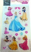 Stickers pour ordinateurs  consoles Disney princesses B planche 14 cm x 7,5 cm