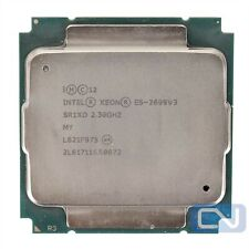 45 MB 18 Core Intel Xeon E5-2699 v3 2.3 GHz SR1XD LGA 2011-3 B Grade CPU