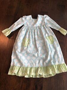 Little girls shrimp and grits dress size 8