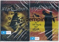 Jeepers Creepers 1 & 2 DVD (2 separate DVD's) New Sealed Australia All Regions
