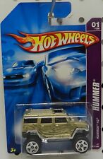 061 61 GM CHEVY HUMMER H2 GOLD 2007 HW HOT WHEELS