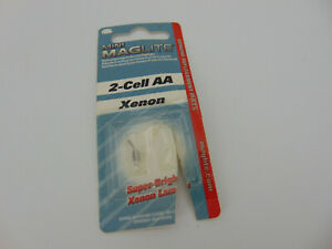 Mini Maglite 2-Cell AA Xenon Replacement Bulb Made in Germany vintage FREE SHIP