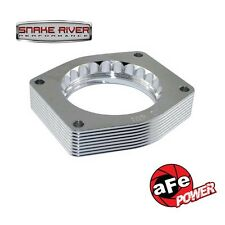 AFE SILVER BULLET THROTTLE BODY SPACERS 07-13 GM TRUCKS & SUV V8 4.8L 5.3L 6.2L