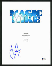 Channing Tatum Authentic Signed Magic Mike 8.5x11 Script Cover BAS #D17284