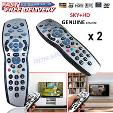 2 X NEW SKY PLUS + HD remote Control TV  REPLACEMENT 1 YEAR WARRANTY UK