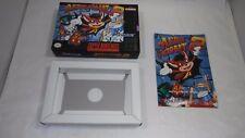 AERO THE ACRO-BAT 2 Super Nintendo  BOX + MANUAL (only) Authentic N MINT Acrobat