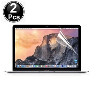 2 x Film PET Screen protector Compatible with Macbook 12 A1534 (2016)