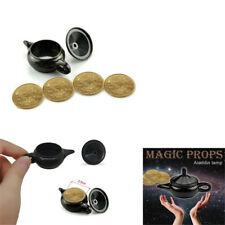 Legend Aladdin Light magic trick coin thru lamp magic coin props easy to do PT