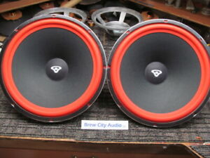 "Pair Cerwin Vega 152WR 152 wr 15"" woofers for D9 Speaker Professionally reconed"