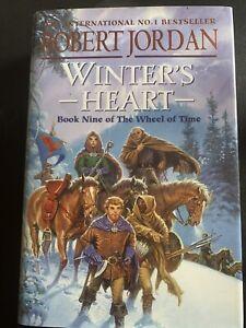Winter's Heart by Robert Jordan (Hardback, 2000) - Book 9 of Wheel of Time saga