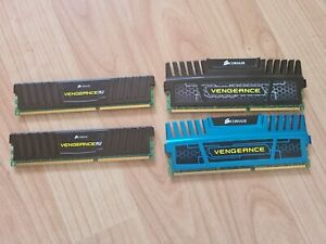 Corsair Vengeance CMZ4GX3M1A1600C9 (4 x 4GB) 1600Mhz DDR 3 PC Memory