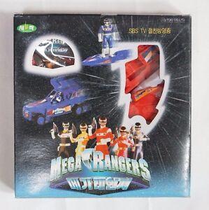 Power Rangers in Space(Denji Sentai Megaranger) : Mega Red Pullback Car