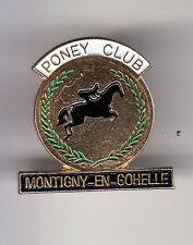 RARE PINS PIN'S .. SPORT CHEVAL HORSE HIPPISME PONEY MONTIGNY EN GOHELLE 62 ~BU