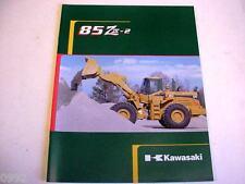 Kawasaki 85 Ziv-2 Wheel Loader Literature