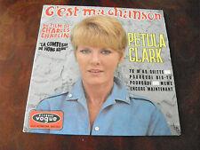 Petula Clark - C'est ma chanson  - disque Vogue n° EPL 8508