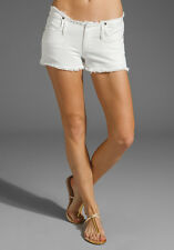 CITIZENS OF HUMANITY TANGIER WHITE DENIM SHORTS W27 UK 8/10
