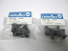 2 Packungen Original HIROBO Heckrohr Halter 0403-246 Tail Boom Holder