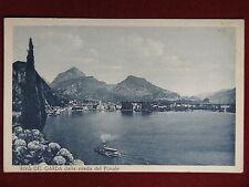 Riva del Garda dalla Strada del Ponale- anni 40, viaggiata #13340