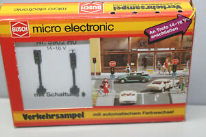 Busch 5902 Traffic Light With Automatic Farbwechseln Gauge H0 Boxed
