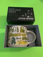 Star Wars Starbucks Mug - May the 4th- You are Here Dagobah- NEW In BOX- Yoda