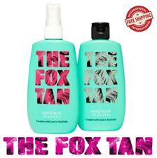The Fox Tan Australian Complete Pack Rapid Mist And Elixir Brand 120ml Brand New