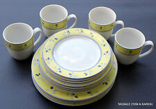 BLUEBERRY by ROYAL DOULTON ~ 16 PIECE SET ~ DINNER FOR 4 OR 8 ~ MICROWAVE