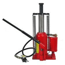 Air Hydraulic Ture 20 Ton Bottle Jack  Jacks Automotive Lift Tools Heavy Duty