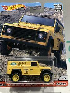 Hot Wheels Premium 2020 Car Culture (Wild Terrain) Land Rover Defender 110 -New