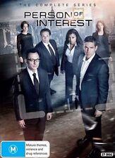 Person Of Interest : Season 1-5 (DVD, 27-Disc Set) Boxset NEW
