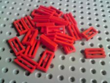 Lego Tiles with Grill 1x2 [2412] - Red x24