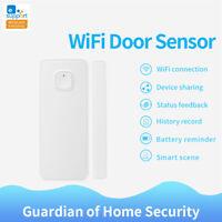 Smart WiFi Door Window Sensor Detectors App Control for Google Home for eWelink