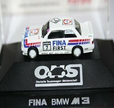 HERPA SPUR TRACCIA HO 1:37 BMW FINA M3 ONS PRIVATE COLLECTION OVP,. AP. BOX