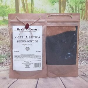 Nigella Sativa Seeds Powder/Black Seed Cumin 100g - Health Embassy 100% Natural