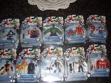 Avengers serie completa Marvel legends 11cm.