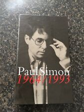 MUSIC CD BOX SET/book Paul Simon 1964/1993 945394-2