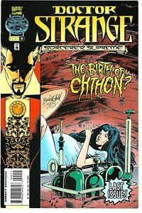 "Doctor Strange #90 (1996) /NM  DeMatteis - Buckingham  ""LAST"" Issue  ""Chthon"""