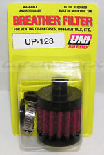 """UNI UP-123 1/2"""" ID Push In Hose Crankcase Differential Head Vent Breather Filter"""