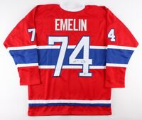 Alexei Emelin Signed Montreal Canadiens Jersey (Beckett COA) NHL