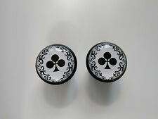 Colnago Arabesque black Plugs Caps Tapones guidon bouchon lenker vintag style 3D