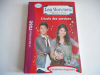 BIBLIOTHEQUE ROSE - L'ECOLE DES SORCIERS / WAVERLY PLACE - DISNEY