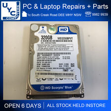 "Used Working Western Digital WD3200BVPT-22ZEST0 320Gb 2.5"" Hard Drive 24JUN2011"