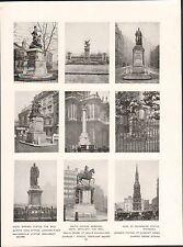 London Royal Marines Statue the Mall Quintin Hogg Langham  ENGLAND PLANCHE 1910