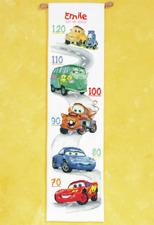 Disney's Cars Height Chart Counted Cross Stitch Kit