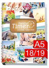 Family-Timer 2018/2019 - Der Familien-Planer! 18 Monate Juli 18-Dez 19 Chäff