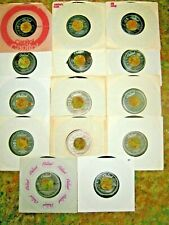 BEATLES/PAUL MCCARTNEY LOT OF 14 CAPITOL RECORDS 45'S